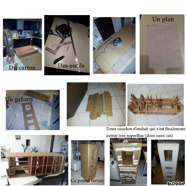 L 39 id e de mon 1er meuble en carton - Fabrication de meubles en carton ...